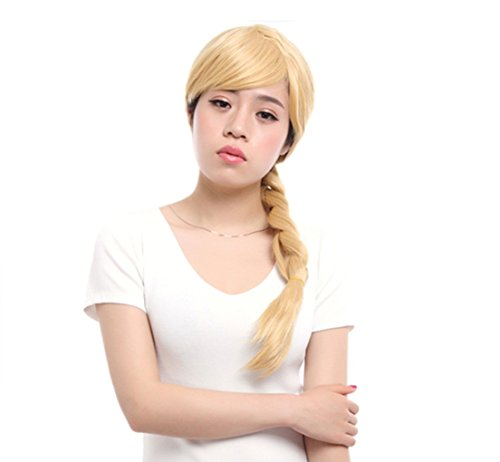 Astrid Dragon 2 Costume (Lemail wig ® Women's Long Blonde with Pigtails Costumes Full Wigs (Blonde))