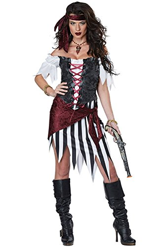 California Costumes Pirate Beauty Adult Costume-Small - Hot Pirate Women