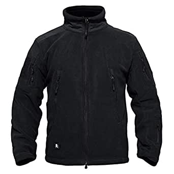 Amazon.com: TACVASEN Army Fleece Jacket Brand Men Jacket