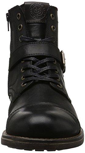 Marc O'Polo 61021666303202, Botas Cortas Hombre Negro (Black 990)