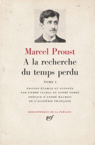 Ferre Leather (A la recherche du temps perdu, tome I - edition etablie et annotee par Pierre Clarac et Andre Ferre (Bibliotheque de la Pleiade))
