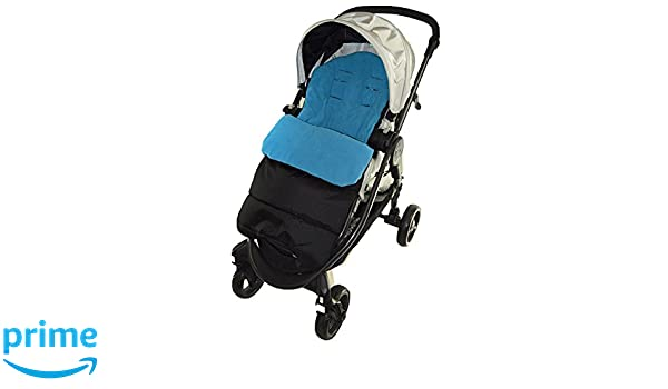 Saco/Cosy Toes Compatible con Jane Crosswalk carrito de bebé, color azul: Amazon.es: Bebé