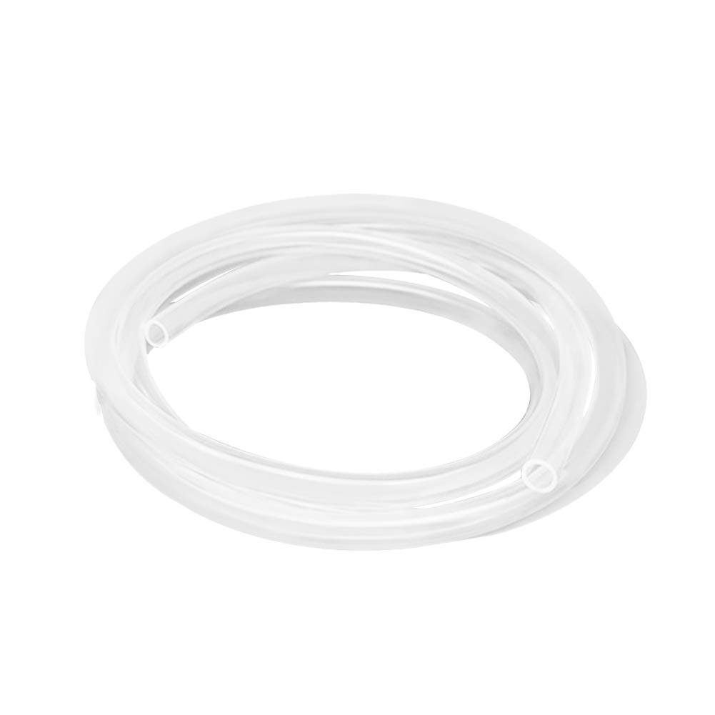 Hooshing Silicone Tubing 9mm ID x 12mm OD 10 Ft Food Grade Flexible Pure Silicone Rubber Tubing Hose High Temp for Home Brewing Winemaking Pump Transfer
