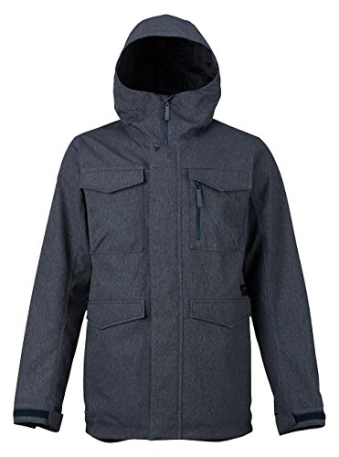 Burton Men's Covert Jacket, Denim, X-Small by Burton