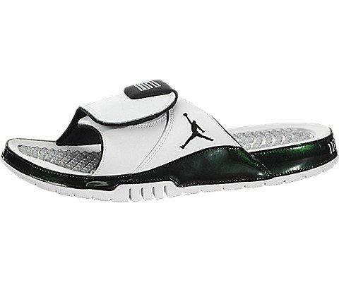 0f880db3501b Galleon - Nike Men s Air Jordan Hydro Xi Retro Slide White Emerald Rise (11  D(M) US)