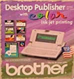 electronic word processor - Brother DP-525CJ Desktop Publisher Electronic Typewriter plus Word Processor, 7 line LCD Display