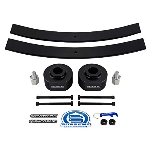 Supreme Suspensions - Full Lift Kit for Ford Ranger/Explorer/Bronco 4WD High Density Delrin Spacers and Steel Short Add-a-Leafs + 5/8