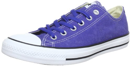 Converse Ct Bas Wash Ox 287140-61-52 Unisex - Erwachsene Sneaker Blau (Bleu Foncé)