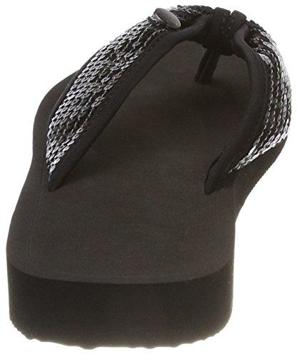 black Ciabatte Donna Nero Esprit Sequins Diva E7qxwX8