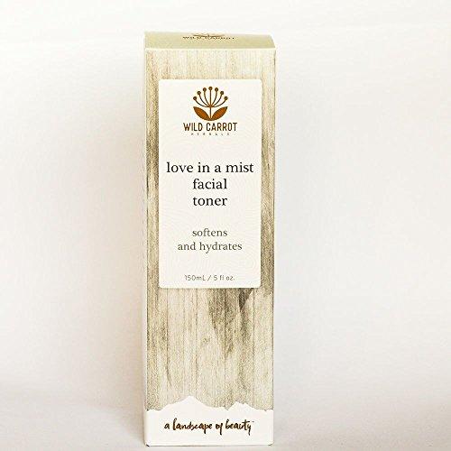 Love In A Mist Facial Toner Wild Carrot Herbals 150 mL (Herbal Facial Toner)