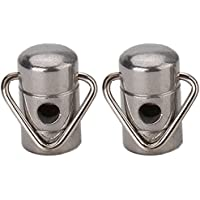 New Strap Hooks Chrome Zinc Alloy Securely Strap Hooks For Banjo Replacement By KTOY