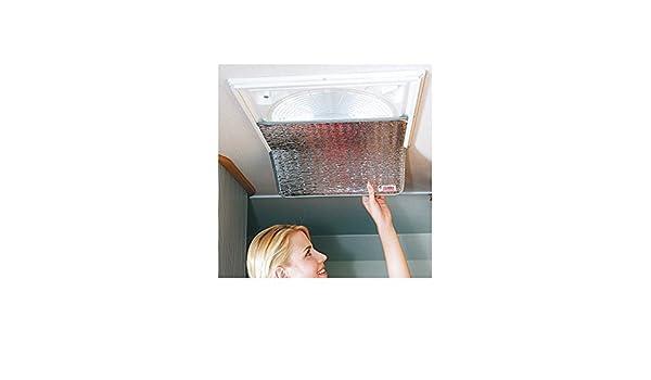 FIAMMA - Oscurecimiento Thermo Vent Claraboyas 40x40cm aislamiento térmico Camper - 75105: Amazon.es: Hogar