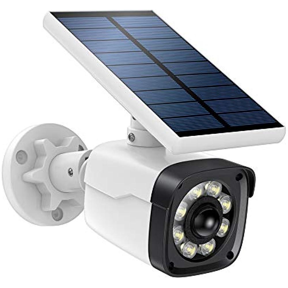 Solar Motion Sensor Lights Camera Outdoor, Dummy Fake ...
