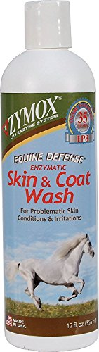 Zymox Equine Defense Enzymatic Horse Skin & Coat Wash, 12 Oz. by Zymox Equine