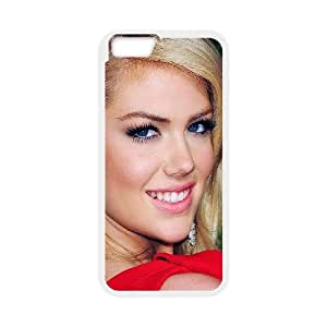 iPhone 6 4.7 Inch Cell Phone Case White Kate Upton Red Dress Girl Face Psvqb
