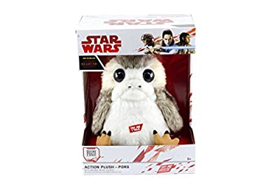 The Last Jedi: Life-Sized Interactive Action Porg Plush from Underground Toys LLC