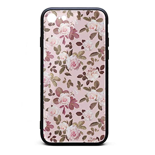 - Popular iPhone 7/8 Mobile Phone case Beautiful Pink Rose Flower iPhone 7 Smart Best iPhone 8 case