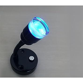 Dream Lighting 12V LED Leselampe Innenbeleuchtung Wohnmobil Leselicht Wohnwagen Anh/änger Boot Verchromt 2 Modi Blau//Warmwei/ß Wandlampe Nachttischlampe 2 St/ück in jeder Packung