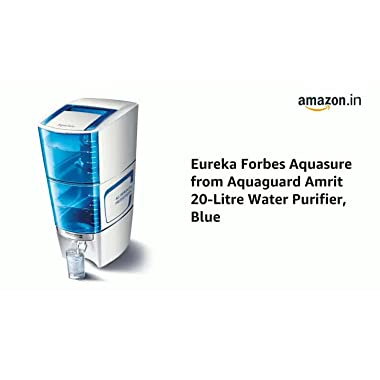 Eureka Forbes Aquasure from Aquaguard Amrit 20-Litre Water Purifier, Blue 4