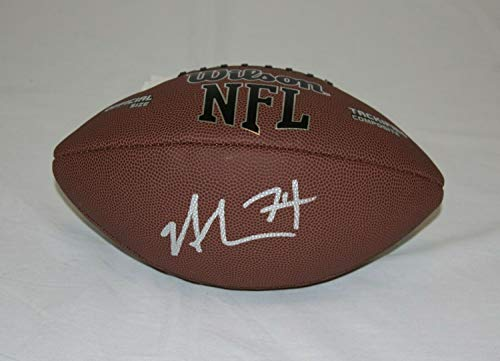 Nick Mangold New York Jets Autographed Signed NFL Football -