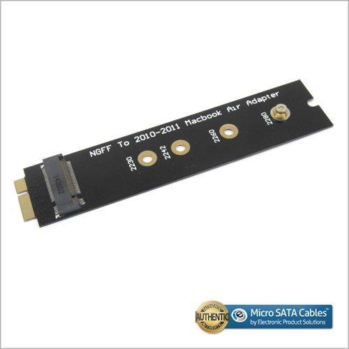 M.2 (NGFF) SSD Adapter as SSD of 2010-2011 MACBOOK Air
