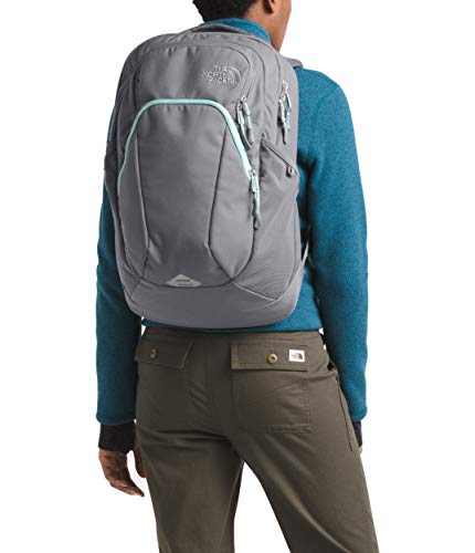 The North Face Women's Pivoter, Zinc Grey/Windmill Blue, OS (Zinc Grey North Face Backpack)
