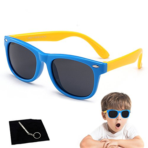Kids Sunglasses Polarized kds Sunglasses Girls Baby Sunglasses Boys Age 4-10