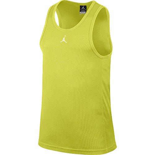 Nike Buzzer Beater Men's Tank Top Volt 589114-331 (Size S)