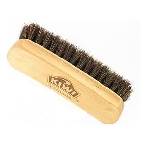 Kiwi 100% Horsehair Shine Brush