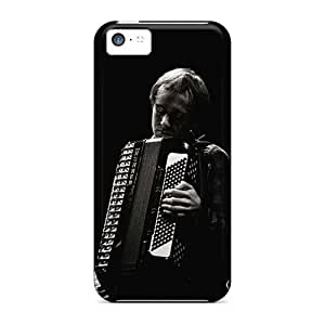 MansourMurray Iphone 5c Shock Absorbent Cell-phone Hard Covers Support Personal Customs Trendy Metallica Image [nKH10916qpQo]