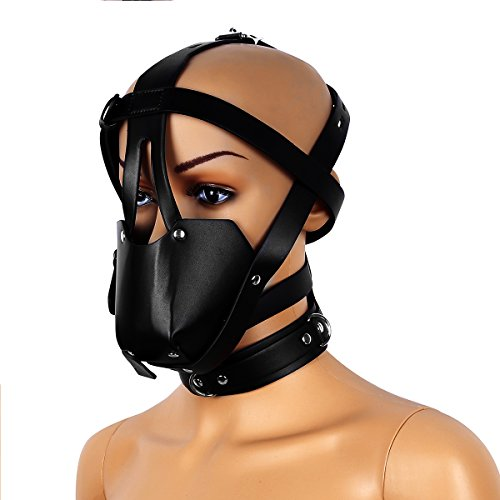 face harness ball gag - 1