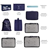 OrgaWise Packing Cubes for Travel Organizer 9 Pcs