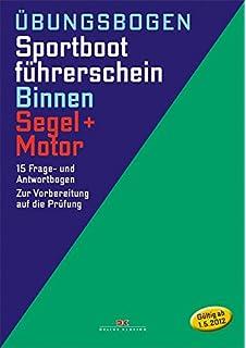 Sportbootführerschein Binnen Motor Fragenkatalog Prüfung Prüfungsfragen Buch Neu Bootsteile & Zubehör Bootsport