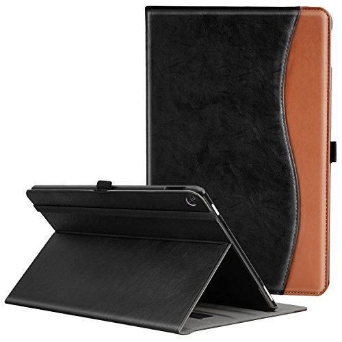 Ztotop Folio Case for Amazon All-New kindle Fire HD 10 Tablet (2017 Release, 7th Generation) - Smart Cover Slim Folding Stand Case with Auto Wake / Sleep,dual color