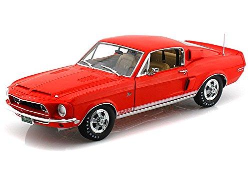 1968 Shelby GT500KR Special order color WT 5185 1/18 Orange Red