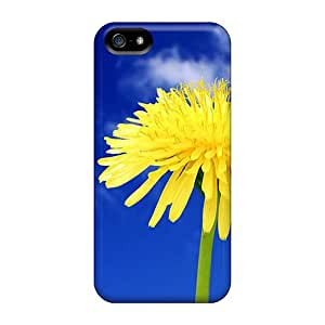 Iphone 5/5s Case Cover Flower In Blue Sky Case - Eco-friendly Packaging