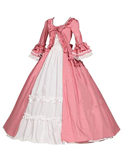 Momo Womens Floor Length Gothic Lolita Dress Lace