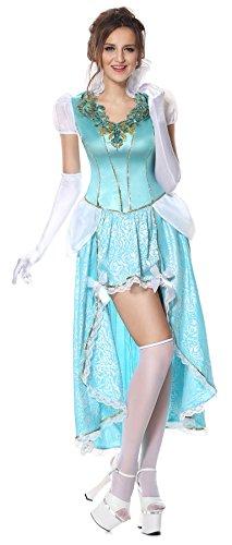 Having A Ball Adult Cinderella Costumes - Luruiya Women's Plus Size Having A