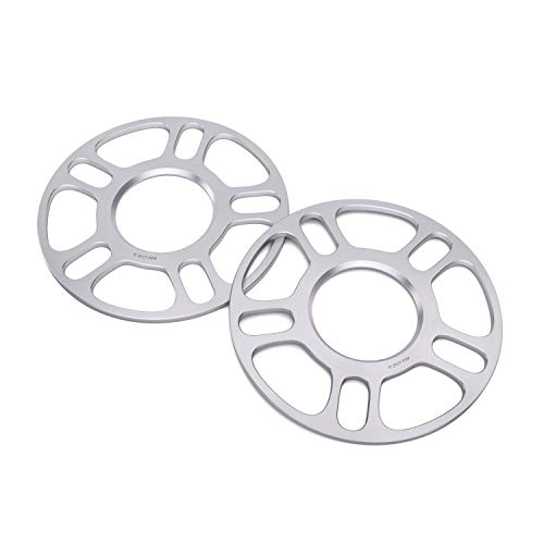 Works with Hyundai Genesis Veloster Kia Soul Optima Mazda 3 5 MX-6 Mitsubishi Eclipse Lancer Galant Ford Fusion Jeep Patriot Compass and More 67.1mm Bore 2pcs 3mm Hubcentric 5x114.3 Wheel Spacers