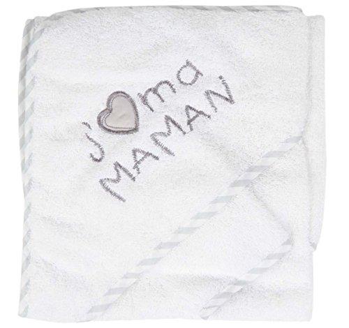 ensemble bebe Cape avec gant Sortie de bain BcGr-JM b/éb/é NISSANOU idee cadeau naissance