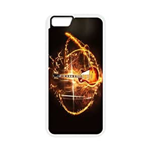 "JenneySt Phone CaseLove Music Love Guitar For Apple Iphone 6,4.7"" screen Cases -CASE-14"