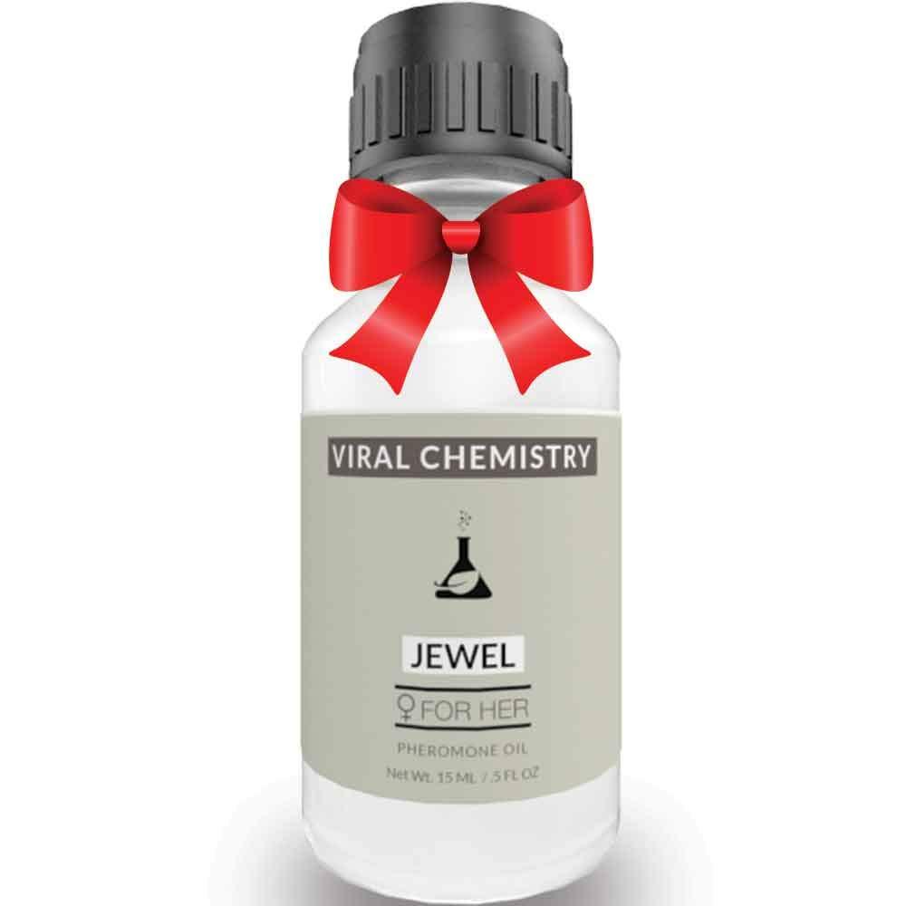 Pheromones For Women (JEWEL) - Elegant, Ultra Strength Organic Fragrance Body Perfume Oil 15mL Concentrate [Human Grade Pheromones to Attract Men]