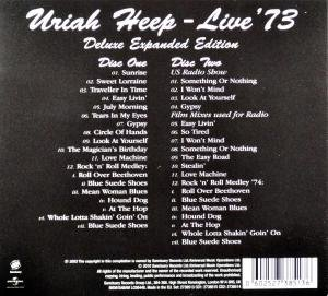 Uriah Heep Live 73 Expanded Deluxe Edition Amazon Com Music