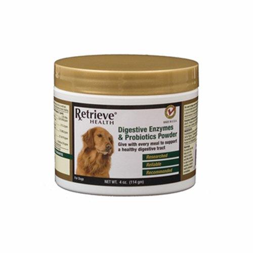 Retrieve Health Food & Skin Allergy Relief (Enzymes & Probiotics), 4 Ounces
