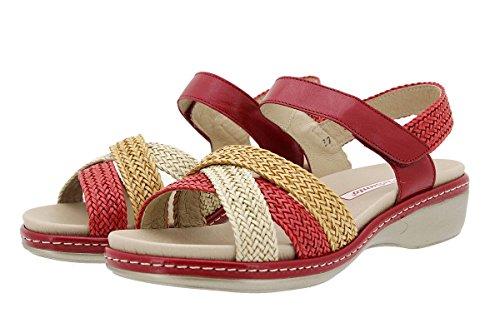 rojo 180809 Shoe Arena Comfort Insole PieSanto Trenzado arcilla Removable Sandal 8nHppq