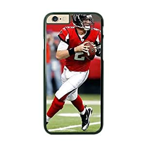 NFL iPhone 6 Plus Black Cell Phone Case Atlanta Falcons QNXTWKHE1909 NFL Phone Case Fashion