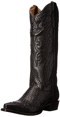 Stetson Women's Bailey, Vintage Black, 9 M US ()