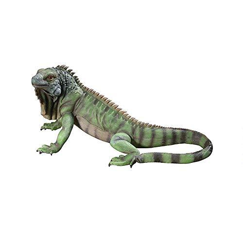 Design Toscano QL56991 Iggy The Iguana Garden Statue, Large, Full Color