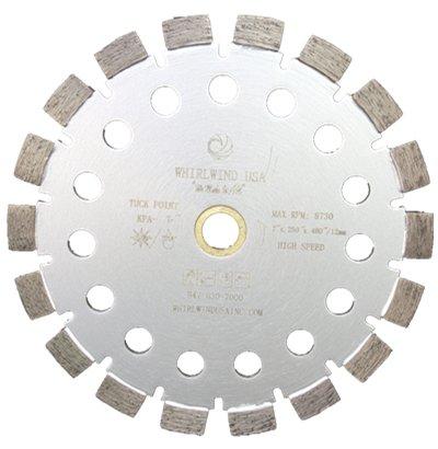 Disco de Diamante WHIRLWIND KPA punta de Tuck activa premium solado con láser de 4 pulg. para mortero de concreto (Venta