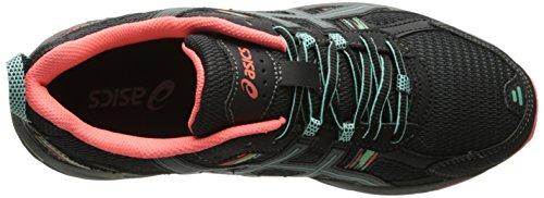 ASICS Women's Gel-venture 5 Running Shoe, Black/Aqua Mint/Flash Coral, 6 M US by ASICS (Image #8)